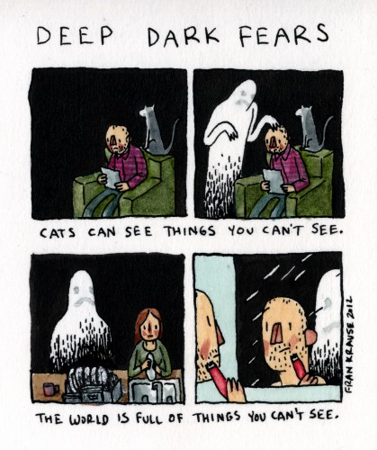 Comic from Deep Dark Fears.