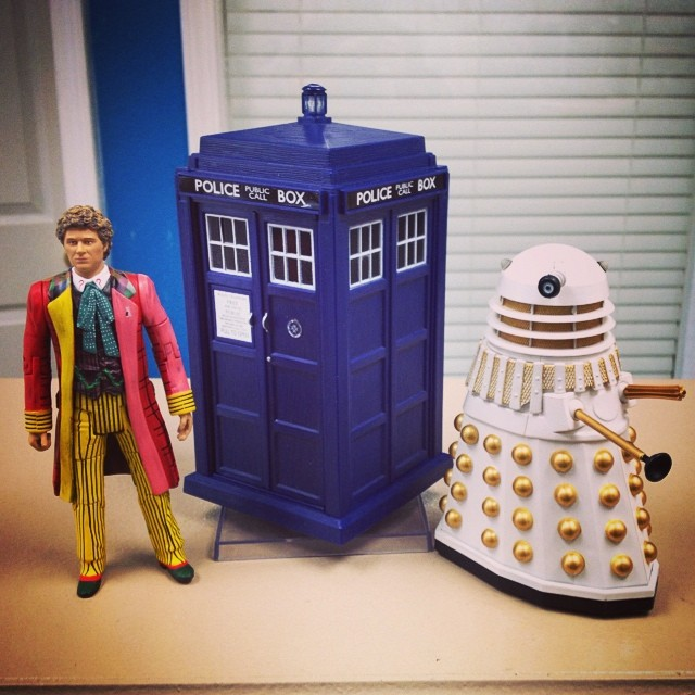 Doctor Who loot, from some very awesome clients! Thank you, thank you, thank you!