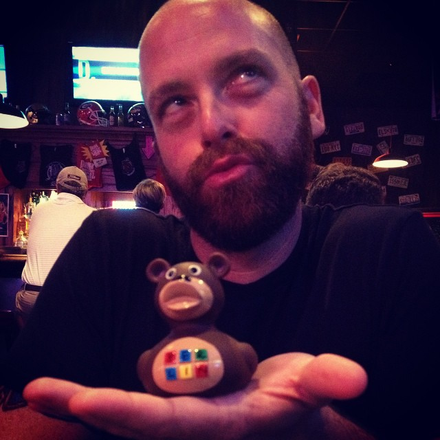 @mikefarmer75 brought me a DuckBear from Berlin!