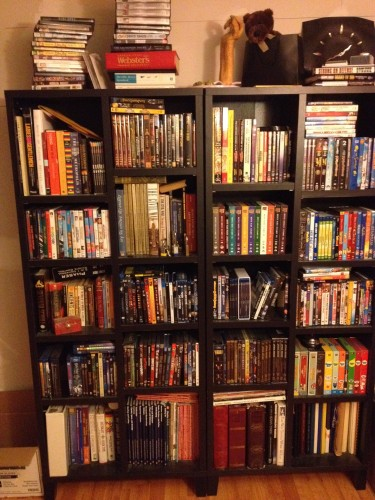 11:39 PM: The remaining DVDs I still need to rip and transfer into our media server. I guess I should get cracking on that.