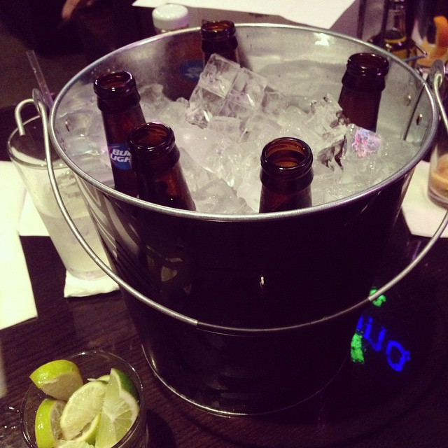 I'm all about the buckets. 'Bout the buckets. No singles.