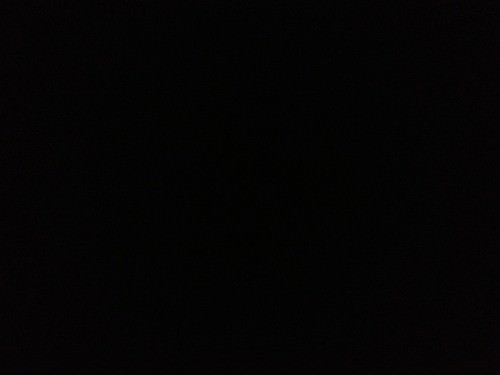 3:12 am: Bedtime. The bedroom is blacked out because I can't sleep with any lights shining in.