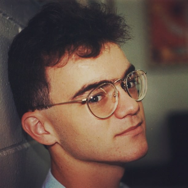Sometime near the end of my senior year, 1991.