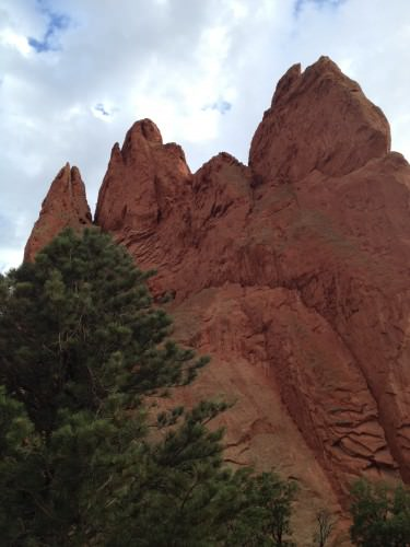Formations at Garden of the Gods