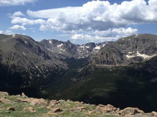 Somewhere in Rocky Mountain National Park.