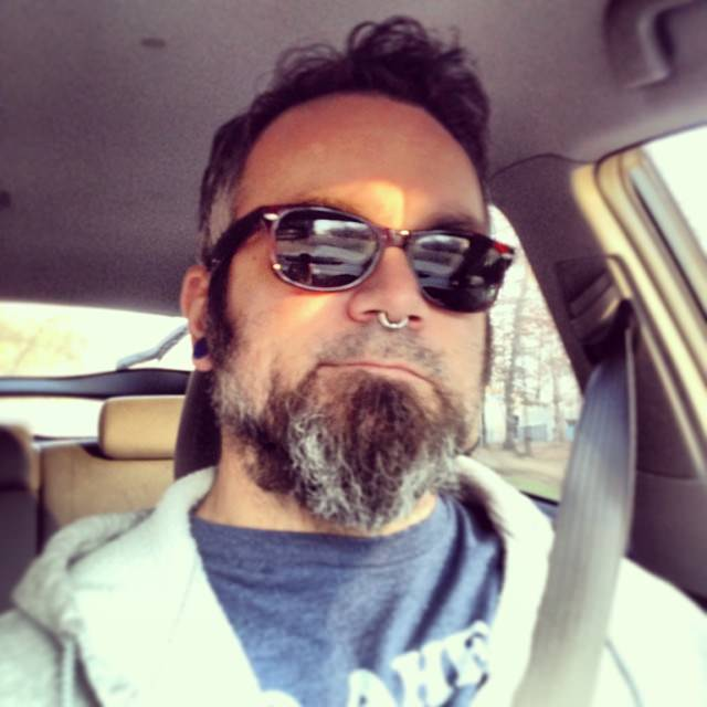 Gratuitous driving selfie. On yet another trip to the home improvement store today.