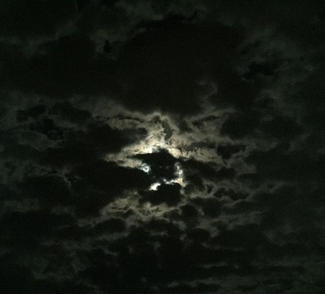 There's a moon in the sky and it's called the moon.