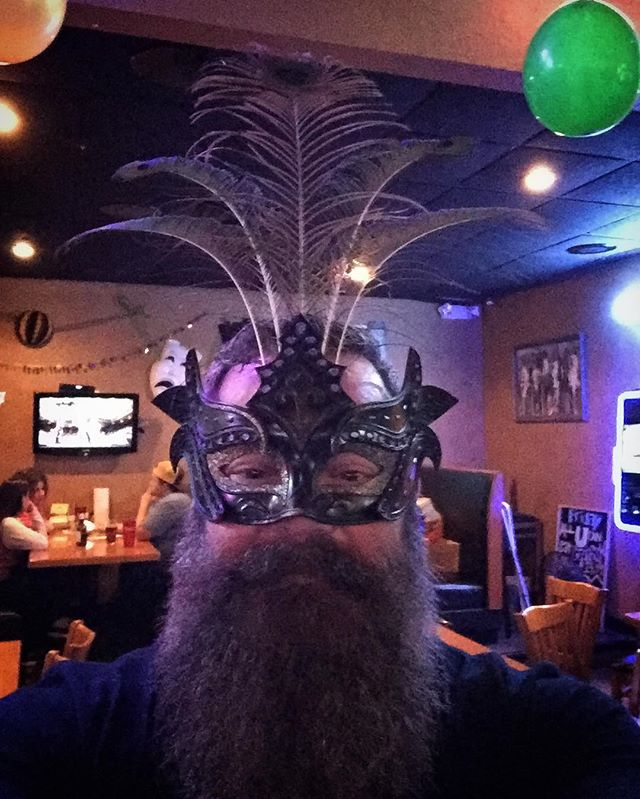 Happy Fat Tuesday! I think I may have crossed into Viking drag land...