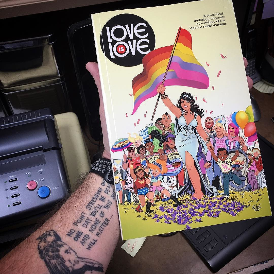 Thank you, Craig! I look forward to reading this. #loveislove