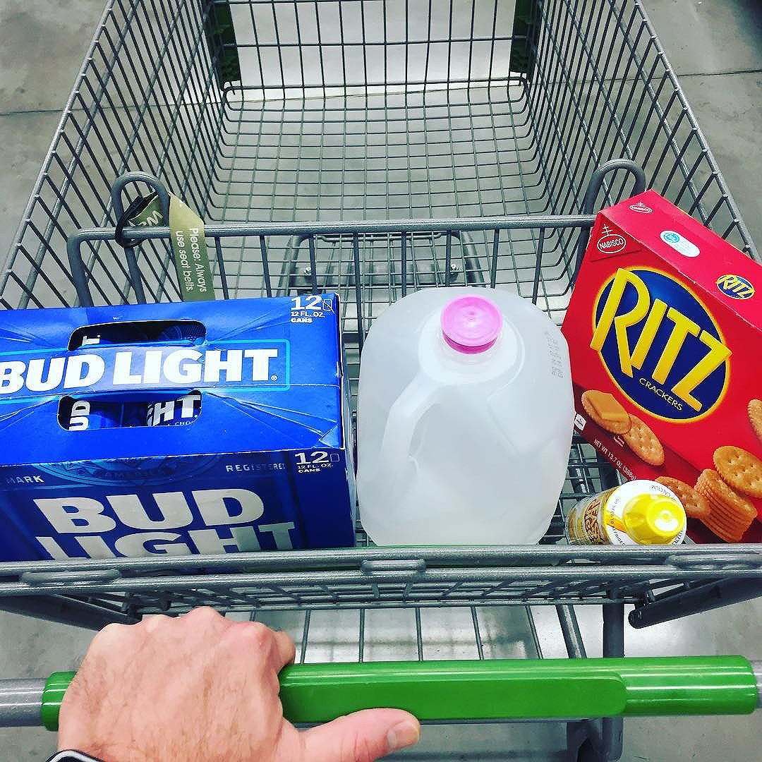 Pic a Day in May: May 16. Does this shopping selection make me look single?