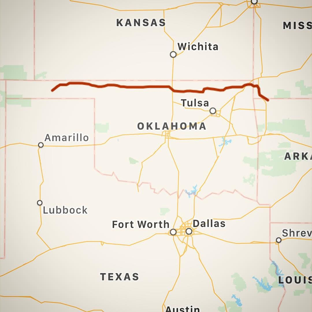Day 1: 479 miles. Home to Guymon, Oklahoma. #driveabout2017