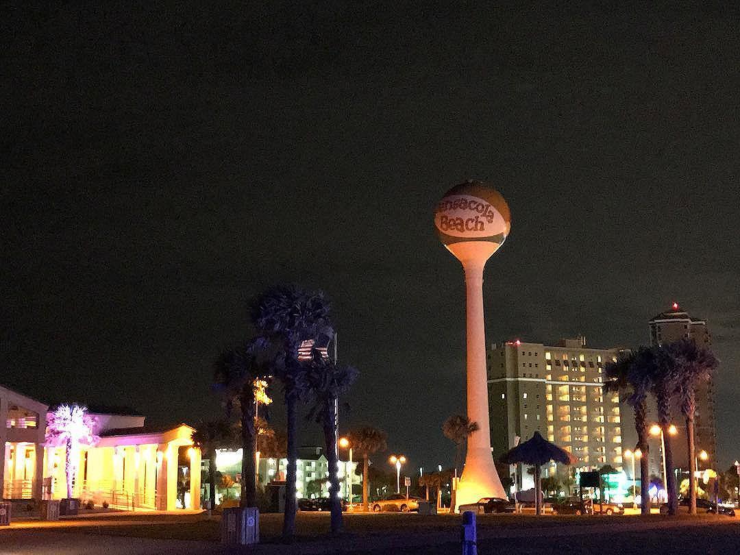 Not the Vegas skyline.