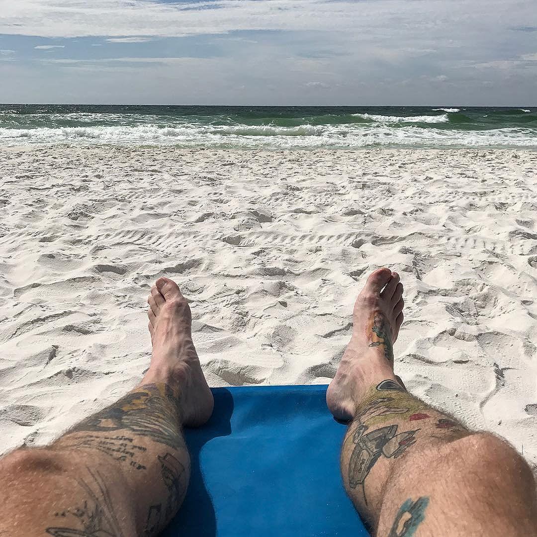Hello beach.