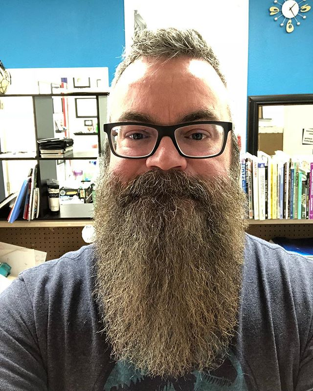 When your head now pretty much takes up the entire length of the frame... #isthereahashtagforbeardlength
