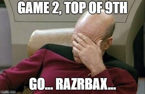 There. I helped. Again. #arkansasrazorbacks #omahogs