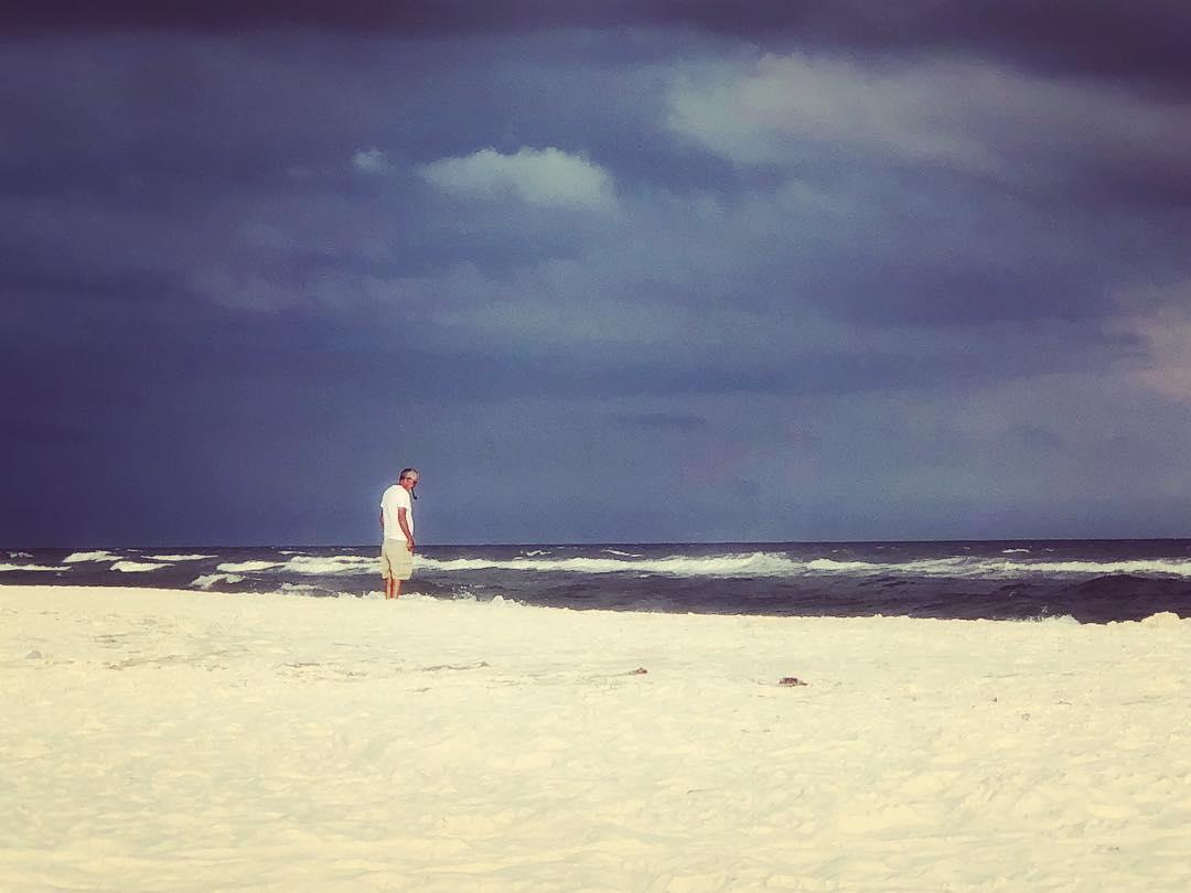 Old man and the sea. #latergram #isittimetogobackyet