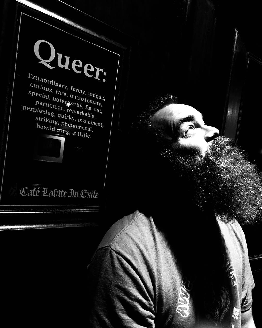 I think I fit that definition. Happy Pride month!  #pride #throwbackthursday (Thank you to my buddy Dwayne @big_dfh for the photo)