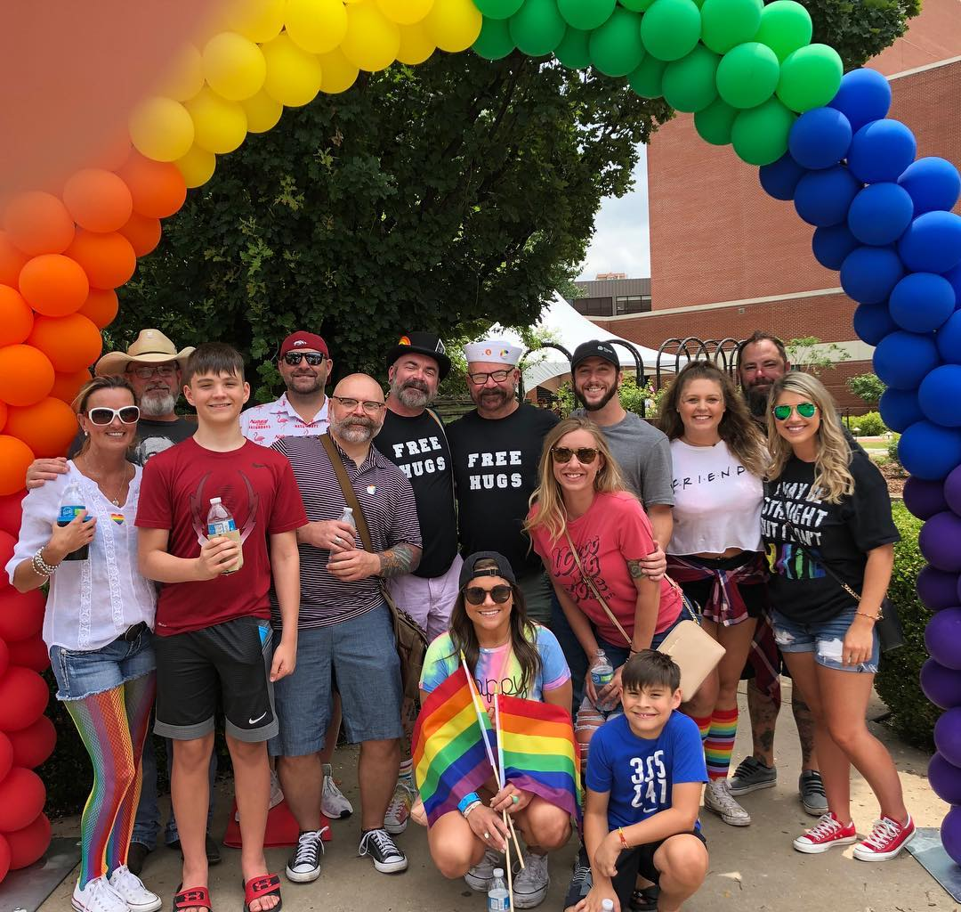 I love the support and love I get from every single human here. Happy Pride!