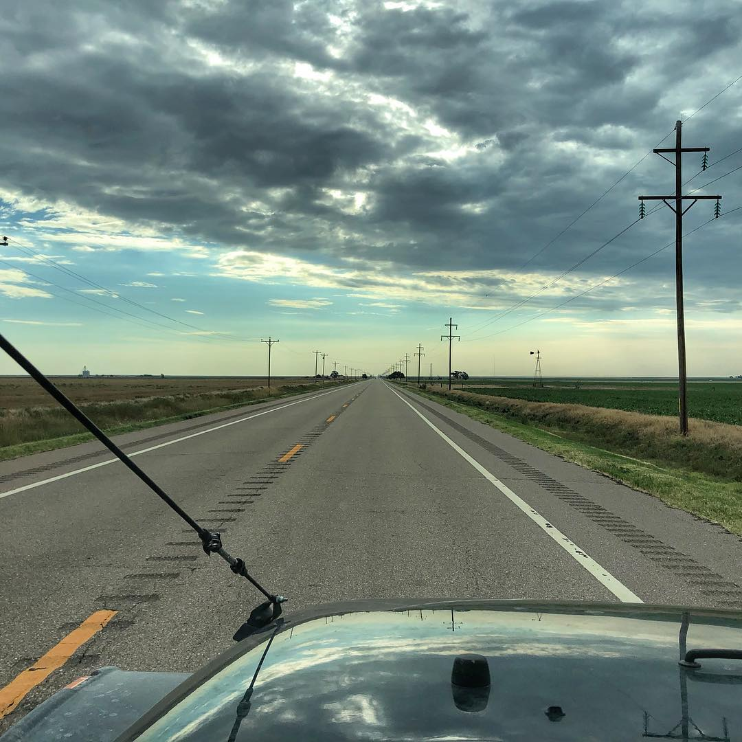 Morning from the Oklahoma panhandle... #walkabout