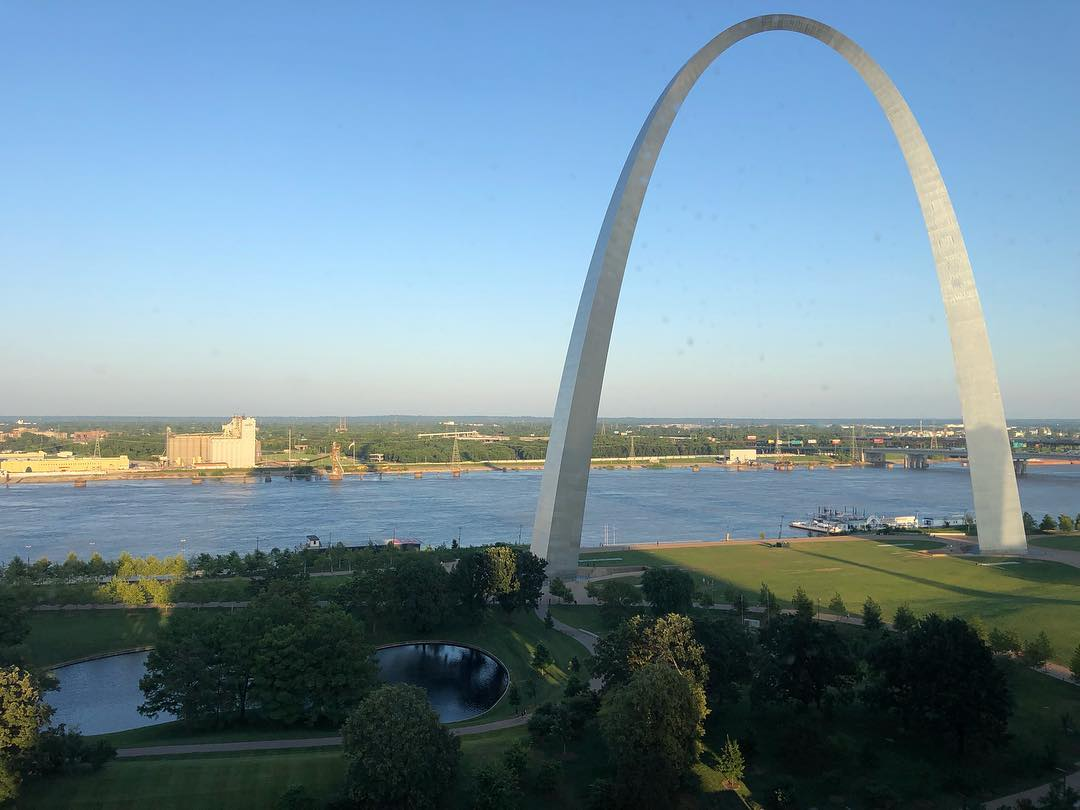 The view from my hotel room this evening...