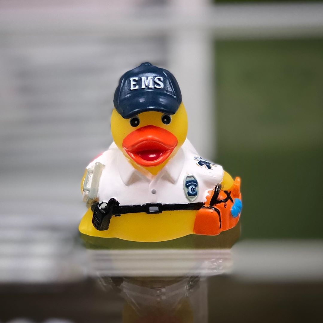 Newer rubber ducky. EMS! Thank you Michael and Jennifer!