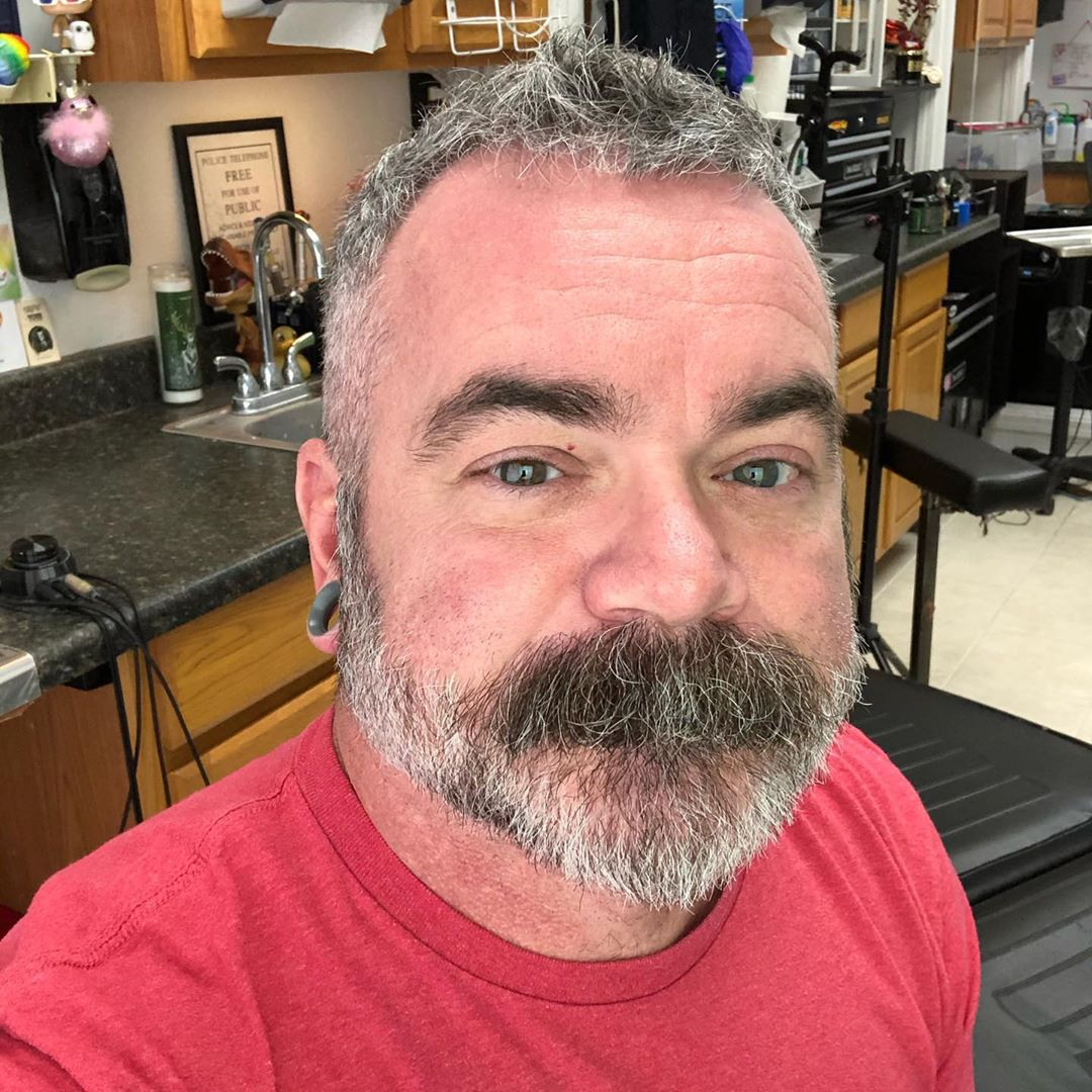 I guess I should do a 2020 selfie. The beard needs to hurry up and grow back out a wee bit. Dang clipper incident. Until then, I'll work the mustache